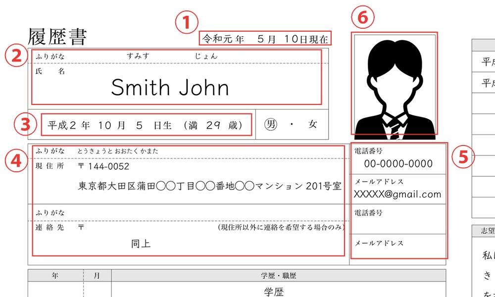 履歴書の書き方外国人向けパーフェクトガイド G Talent Blog